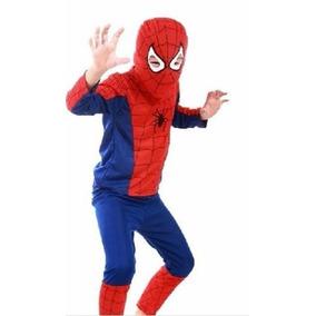 Fantasia Infantil Cosplay Homem-aranha Superman Batman