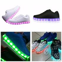 Zapatillas Luces Led Mujer Hombre Niñ@s Del 30 Al 44