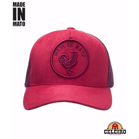 Boné Jãum Jãum Made In Mato Selo Rooster Vermelho B1108