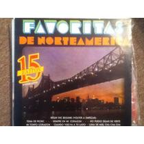 Disco Acetato De: Favoritas De Norteamerica
