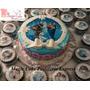 Torta Frozen Para 30 Porciones+15 Cupcakes Combo Promoción!