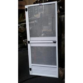 Puerta mosquitero aluminio aberturas en mercado libre for Mosquiteros de aluminio