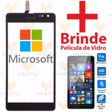 Tela Touch Nokia Lumia 535 Ct2s Rm1092 + Pelicula De Vidro