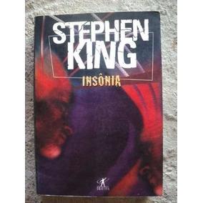Livro - Insônia - Sthephen King - Semi Novo