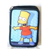 Cartuchera Bart Simpsons 2 Pisos Original V Crespo