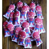 40 Llaveros Spiderman Souvenirs Hombre Araña Superheroes