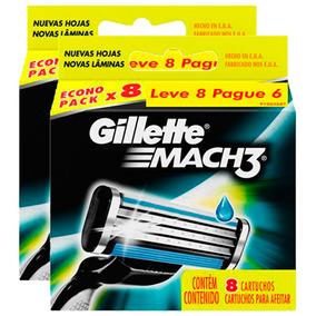 Leve Mais Pague Menos: 16 Cargas Gillette Mach3