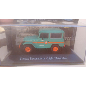 Miniaturas De Veículos De Serviço Jipe Toyota Bandeirante