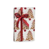 Holly Elegante Berry Árboles De Navidad Recuerdos Papel De