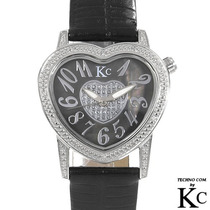 Reloj Techno Com Damas 12 Diamantes Intercambia Correas2 Sp0