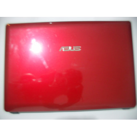 Carcaça Tampa Completa Vermelha Notebook Asus K45a Series