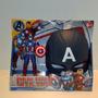 Set Capitán América Con Luz & Máscara Común/ Excelente!