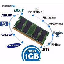Memória Notebook Ddr2 1gb 533/667/800mhz - Promoção (5123)