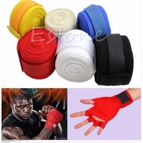 Par De Vendas Para Boxeo Zooboo Color Negro 3 M C/u
