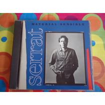Joan Manuel Serrat Cd Material Sensible 1989 Imp