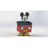 Centro De Mesa Mickey 10 Peças