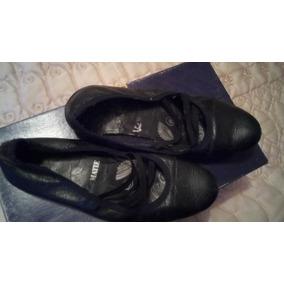Zapatillas Tipo Bailarinas Negras Vic Matie