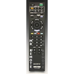 Control Remoto Para Tv Sony Bravia Pantalla Lcd Rm-yd055
