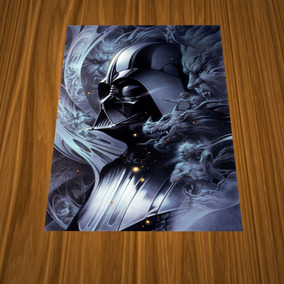 3 Pósters Darth Vader - Película Star Wars - 42x30cm Nuevos