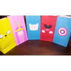 Bolsitas De Papel Pers. P Cumple Monster Inc Little Pony !!
