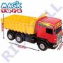 Caminhão Super Caçamba Vermelho Ref:5050 - Magic Toys