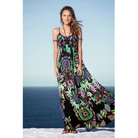 Vestido Inspired Farm - Longo Estampado Novo