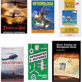 Kit Livros Curso Piloto Privado Teorico