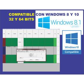 Gestion Control De Ciber, Cafe Internet, Windows 10