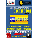 Apostila Digital Concurso Correios Carteiro Atend Comercial