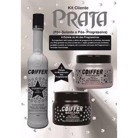 Kit Prata Coiffer + Shampoo Castanho Marrom 300ml