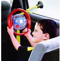 Volante De Carro Brinquedo Infantil Criança Com Barulho Luz