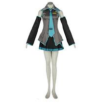 Traje De Vocaloid Hatsune Miku Cosplay Familia (s)