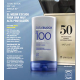 Bloqueador Solar Total Block Spf 100 Unique Gran Original!