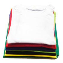 Melhor Que A Hering Camiseta Lisa Algodão 100% Fio 30.1