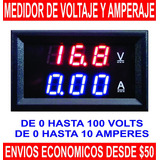 Voltímetro Amperímetro Digital 10a