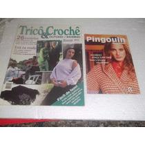 Lote De 8 Revistas Antigas De Tricô, Croché E Bordado