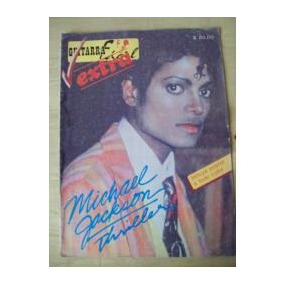 Michael Jackson Thriller:revista Guitarra Facil Extra