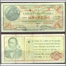 Si-oax-8 1 Peso Estado De Oaxaca