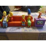 Muñeco Sillón Simpsons Completo Burger King Bart Homero Tv +