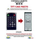 Controle Remoto Para Dvd Automotivo Rc9 Tft Car Preto