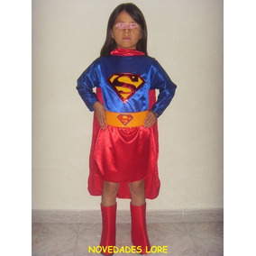 Disfraz Super Chica Regalo Niñas Disfraces Super Heroes