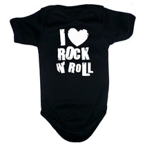 Ropa Para Bebe - Pañalero De I Love Rock And Roll