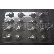 *molde Placa Hueco 8 Calabazas Chocolate Jabon Halloween*
