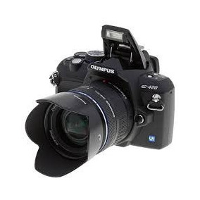 Cámara Digital Olympus E-420 Reflex Semiprof.