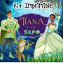 Kit Imprimible Tiana Y El Sapo Invitaciones Tarjetas