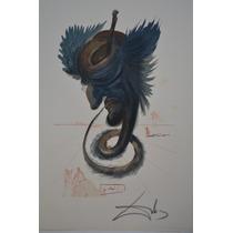 Litografía Original Salvador Dalí. Divina Comedia.