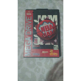 Mega Drive Jogo Nba Jan Original Dá Marca Tec Toy
