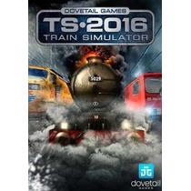 Train Simulator 2016 Simulador De Trem Pelo Mundo - Pc - Dvd