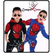 Conjunto Homem Aranha Infantil De 2 A 8 Anos Heroes
