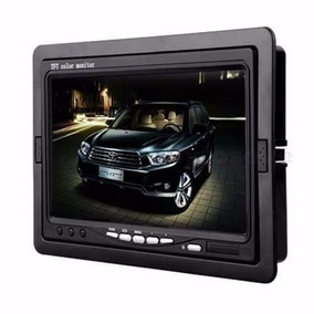 Monitor 7 Polegadas Lcd Digital Portatil P/ Dvd / Cam Ré E73